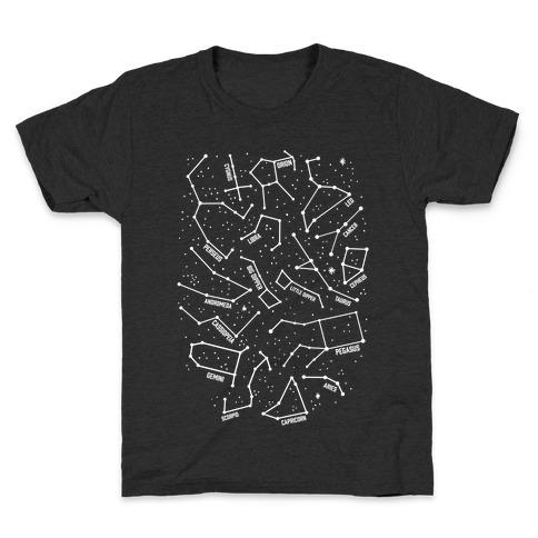 Constellation Star Pattern Kids T-Shirt