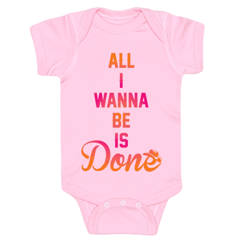 Done Baby Onesy