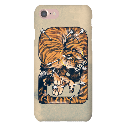 Saint Sebastian Tiger Phone Case