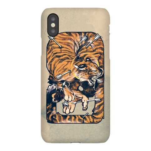 Saint Sebastian Tiger Phone Case
