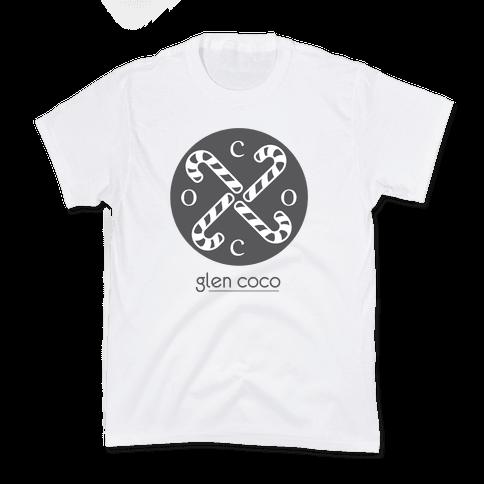 Hipster Coco Logo Kids T-Shirt