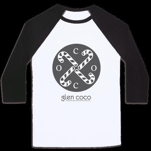 Hipster Coco Logo Baseball Tee