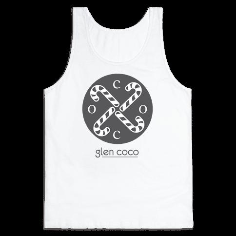 Hipster Coco Logo Tank Top