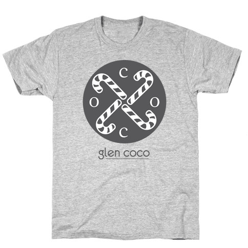Hipster Coco Logo Mens T-Shirt