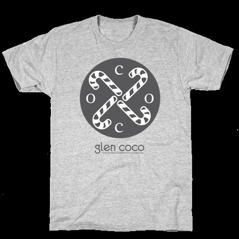 Hipster Coco Logo Mens T-Shirt