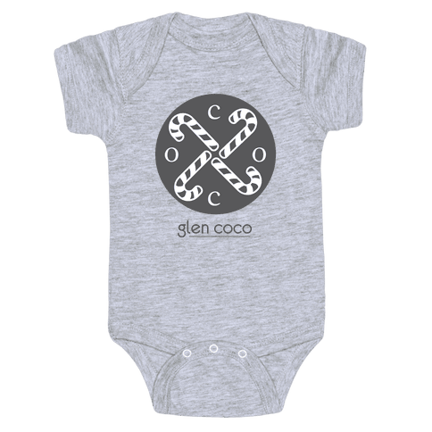 Hipster Coco Logo Baby Onesy