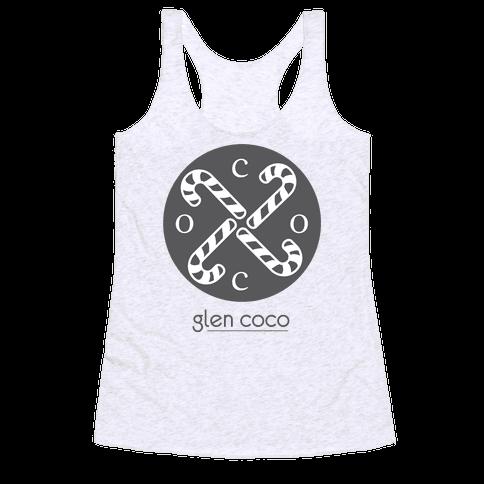 Hipster Coco Logo Racerback Tank Top
