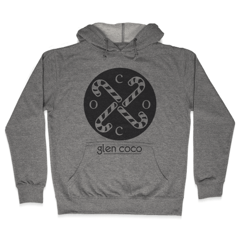 Hipster Coco Logo Hooded Sweatshirt