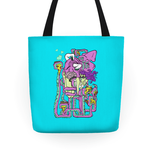 Deep Sea Pizza Party Tote