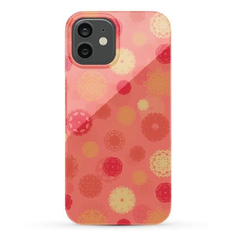 Fractal Flower Pattern Phone Case