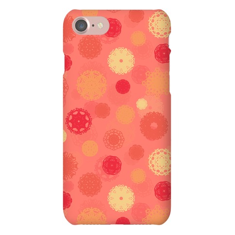 Fractal Flower Pattern Phone Case