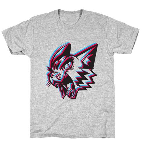 Electric Cat Mens/Unisex T-Shirt