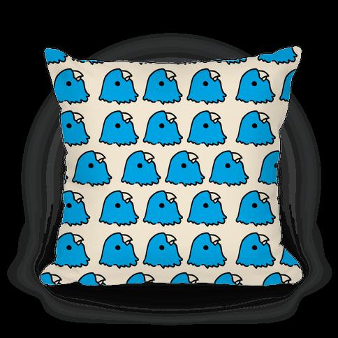 Petey the Parakeet Pattern Pillow