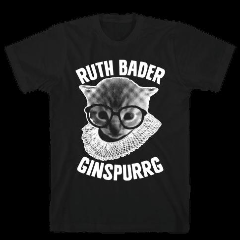 Ruth Bader Ginspurrg Mens T-Shirt
