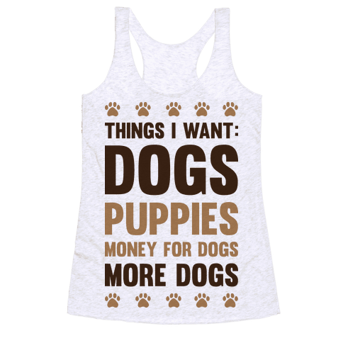 Things I Want: Dogs