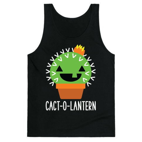 Cact-o-lantern Tank Top