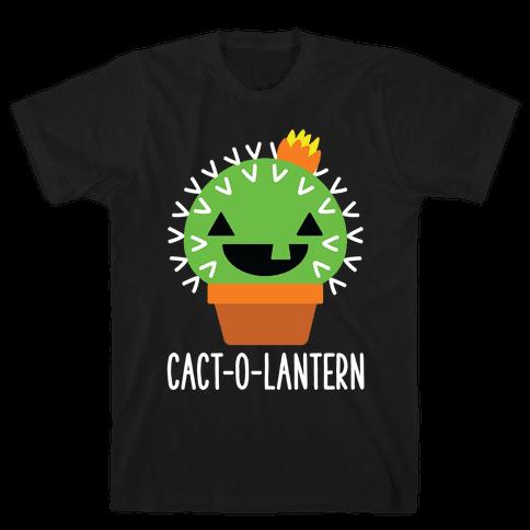Cact-o-lantern Mens T-Shirt