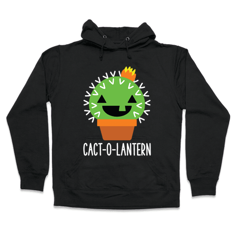 Cact-o-lantern Hooded Sweatshirt