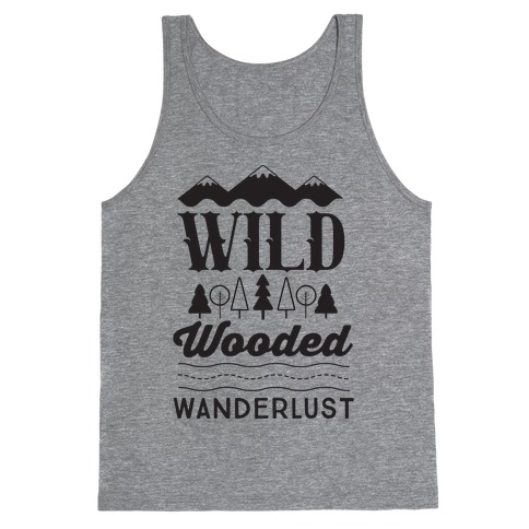 Wild Wooded Wanderlust Tank Top