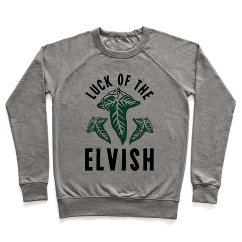 Luck of the Elvish Pullover
