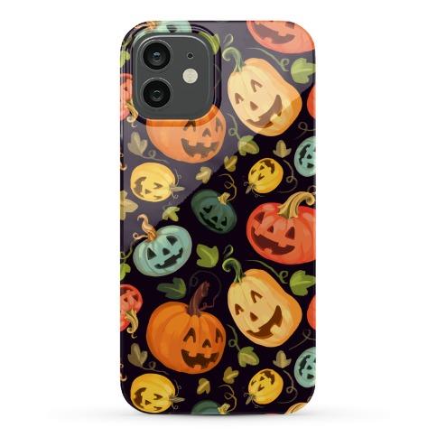 Happy Autumn Pumpkin Pattern Phone Case