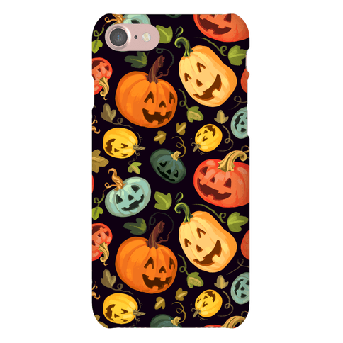 Happy Autumn Pumpkin Pattern Phone Case