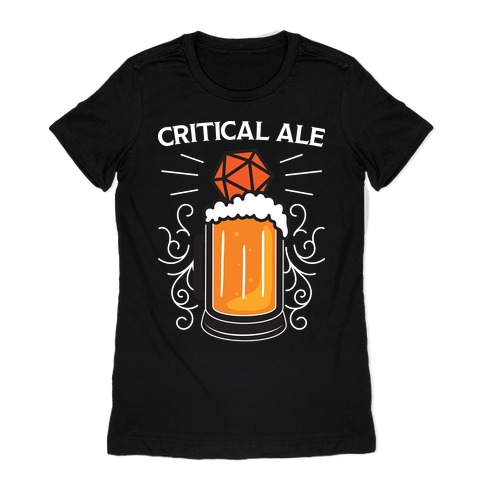 Critical Ale Womens T-Shirt