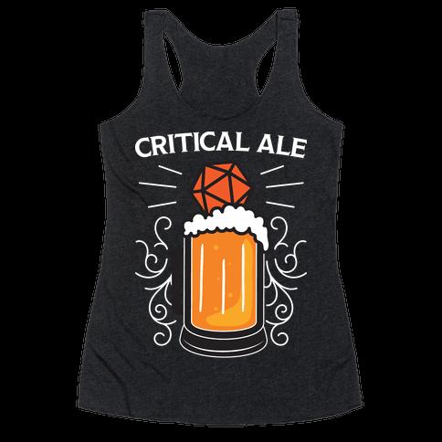 Critical Ale Racerback Tank Top