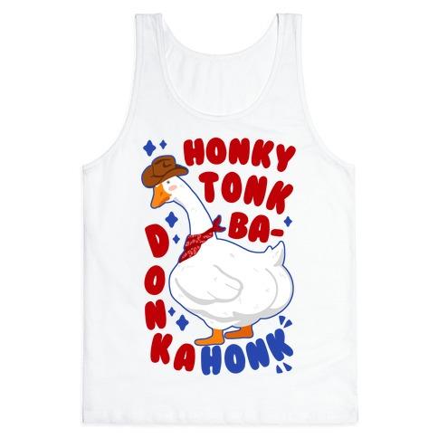 Honky Tonk Badonkahonk Tank Top