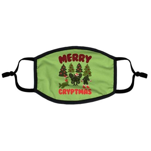 Merry Cryptmas Flat Face Mask