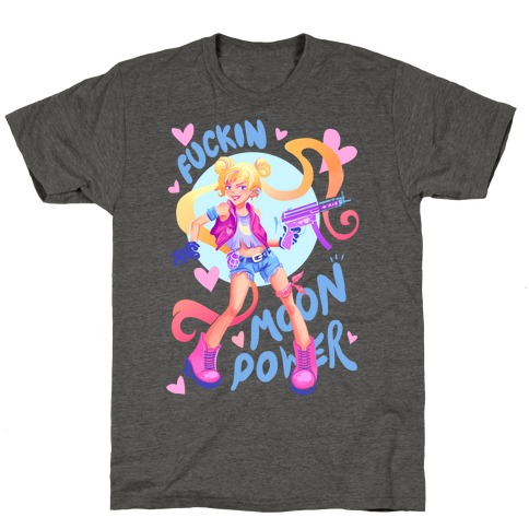 F***in Moon Power T-Shirt