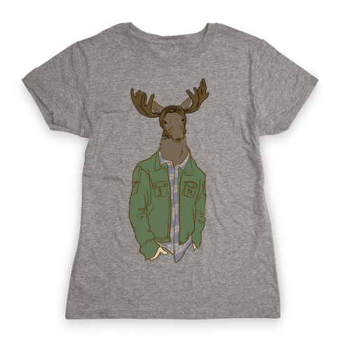 Moose Winchester Womens T-Shirt