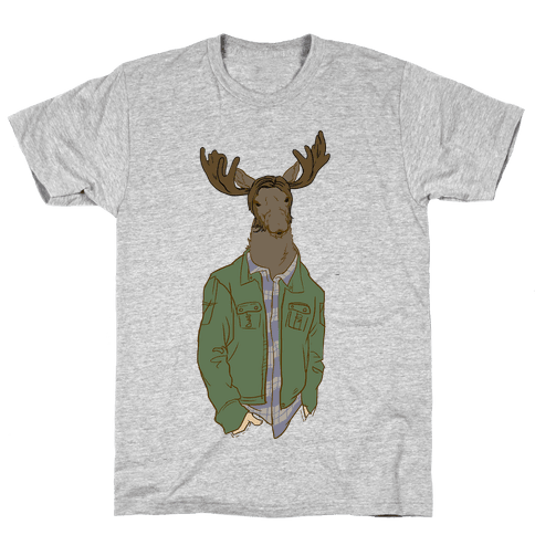 Moose Winchester Mens T-Shirt