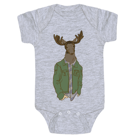 Moose Winchester Baby Onesy