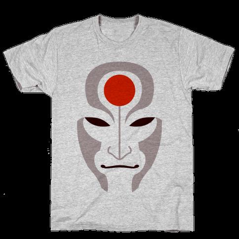 Amon Mask (Fadeaway) Mens T-Shirt