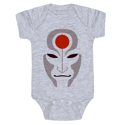 Amon Mask (Fadeaway) Baby Onesy