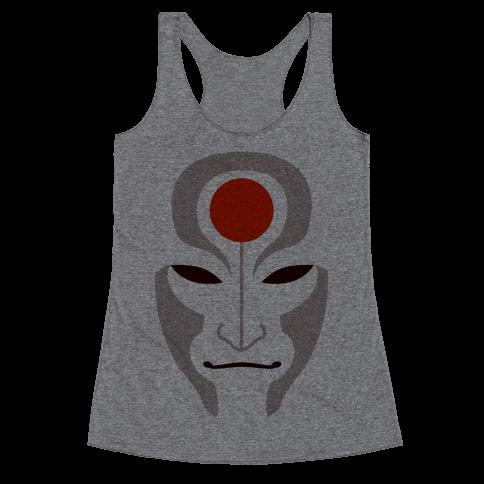 Amon Mask (Fadeaway) Racerback Tank Top