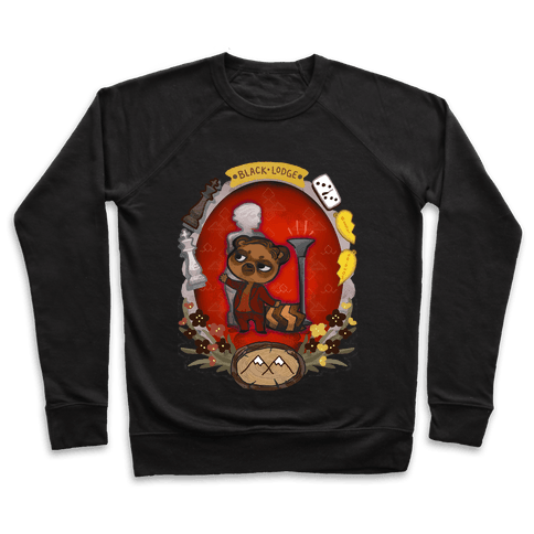 Black Lodge Racoon Pullover
