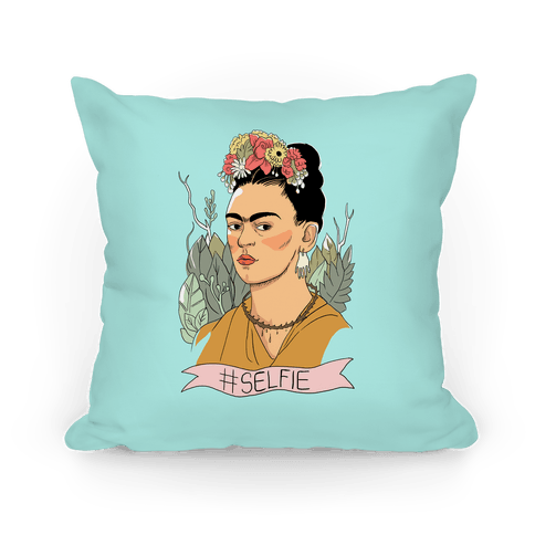 Frida #Selfie Pillow