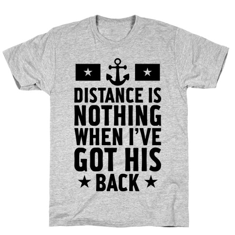 I've Got His Back (Navy) T-Shirt
