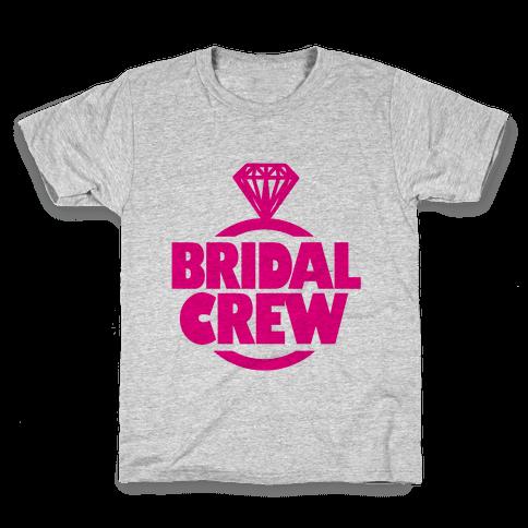 Bridal Crew Kids T-Shirt
