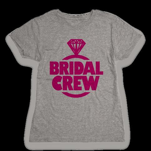 Bridal Crew Womens T-Shirt