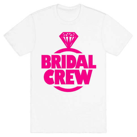 Bridal Crew Mens T-Shirt
