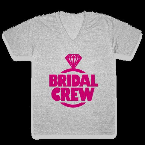 Bridal Crew V-Neck Tee Shirt