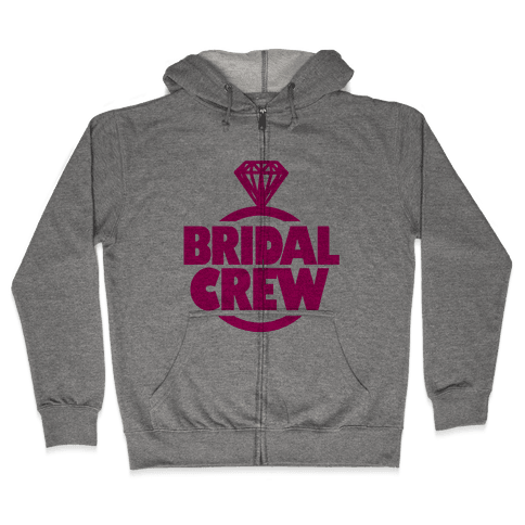 Bridal Crew Zip Hoodie