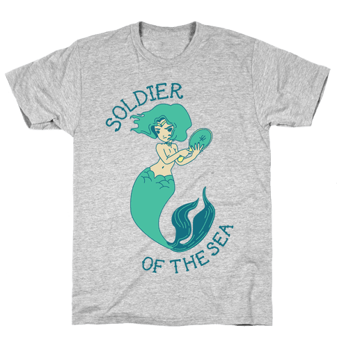 Soldier of the Sea Mens T-Shirt