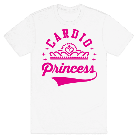 Cardio Princess Mens T-Shirt