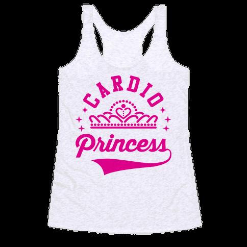 Cardio Princess Racerback Tank Top