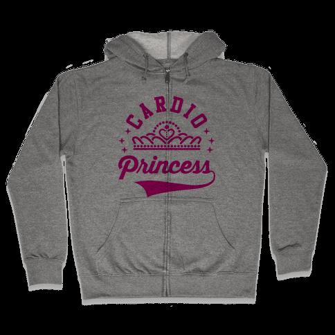 Cardio Princess Zip Hoodie