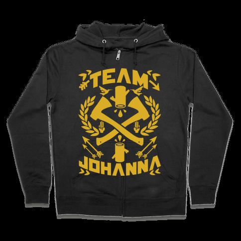 Team Johanna Zip Hoodie